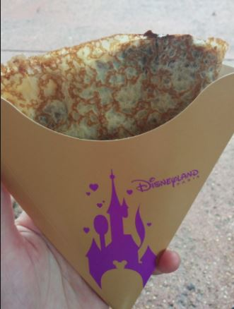 Disneyland Paris Crape with Nutella